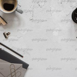 Gray Workspace 01 | Bank zdjęć Moyemu - zdjęcia dla Twojego bloga i biznesu