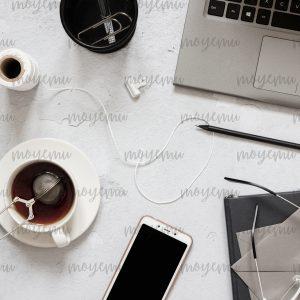 Gray Workspace 06 | Bank zdjęć Moyemu - zdjęcia dla Twojego bloga i biznesu