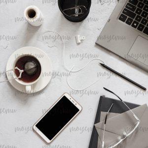 Gray Workspace 07 | Bank zdjęć Moyemu - zdjęcia dla Twojego bloga i biznesu