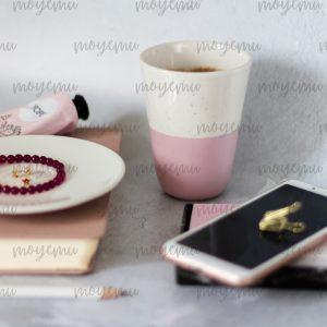 Girly Pink Workspace 04 | Bank zdjęć Moyemu - zdjęcia dla Twojego bloga i biznesu