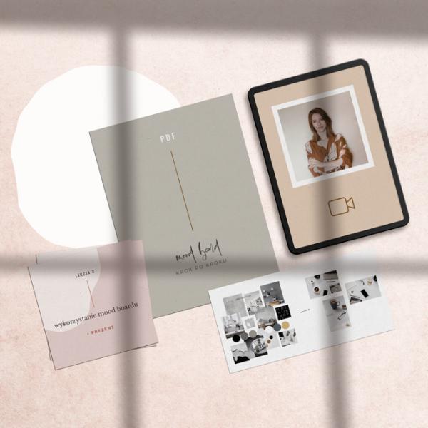 Kurs: Mood board fotograficzny marki | Fotografia biznesowa | Sklep Moyemu - Twoja piękna marka