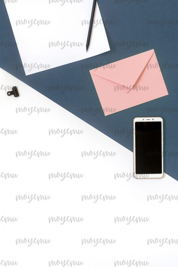 Blue-peach Minimal 04   Bank zdjęć Moyemu - fotografie dla bloga i biznesu