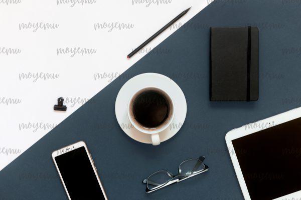 Blue-peach Minimal 03 | Bank zdjęć Moyemu - fotografie dla bloga i biznesu