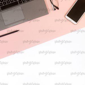 Blue-peach Minimal 05 | Bank zdjęć Moyemu - fotografie dla bloga i biznesu