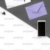Gray-Violet Minimal 04 | Bank zdjęć Moyemu - fotografie dla bloga i biznesu