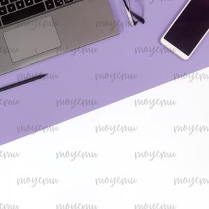 Gray-Violet Minimal 05 | Bank zdjęć Moyemu - fotografie dla bloga i biznesu