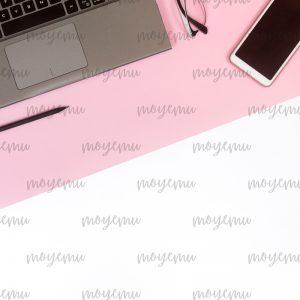 Green-pink Minimal 05 | Bank zdjęć Moyemu - fotografie dla bloga i biznesu