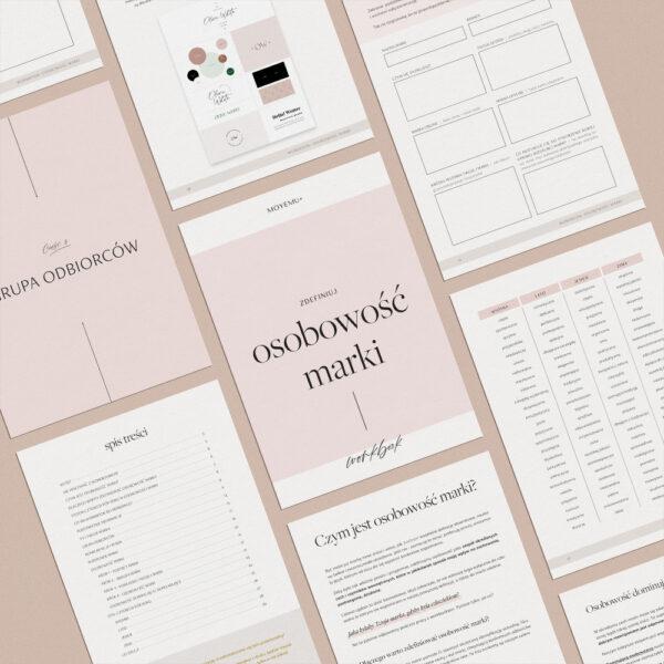 Workbook: Osobowość marki - zdefiniuj porę roku Twojejmarki   Projektowanie identyfikacji wizualnej   Sklep Moyemu