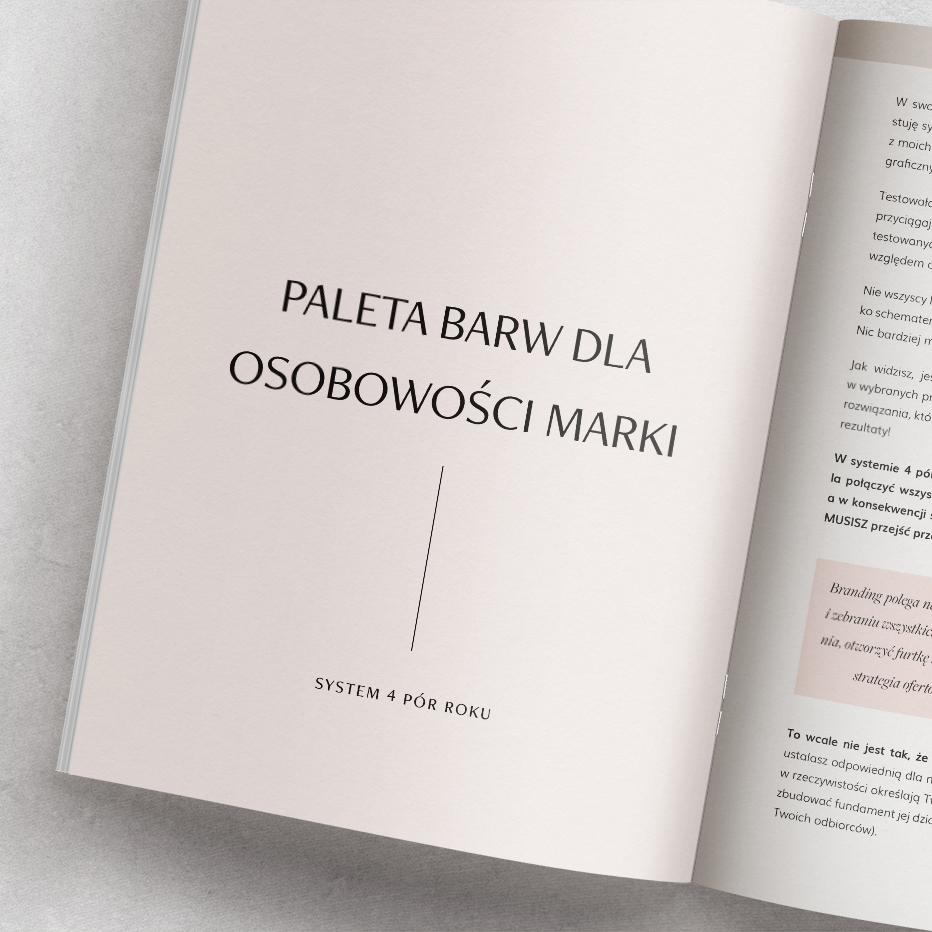 E-book Skuteczna paleta barw. Psychologia koloru - paleta barw dla osobowości marki| Sklep Moyemu