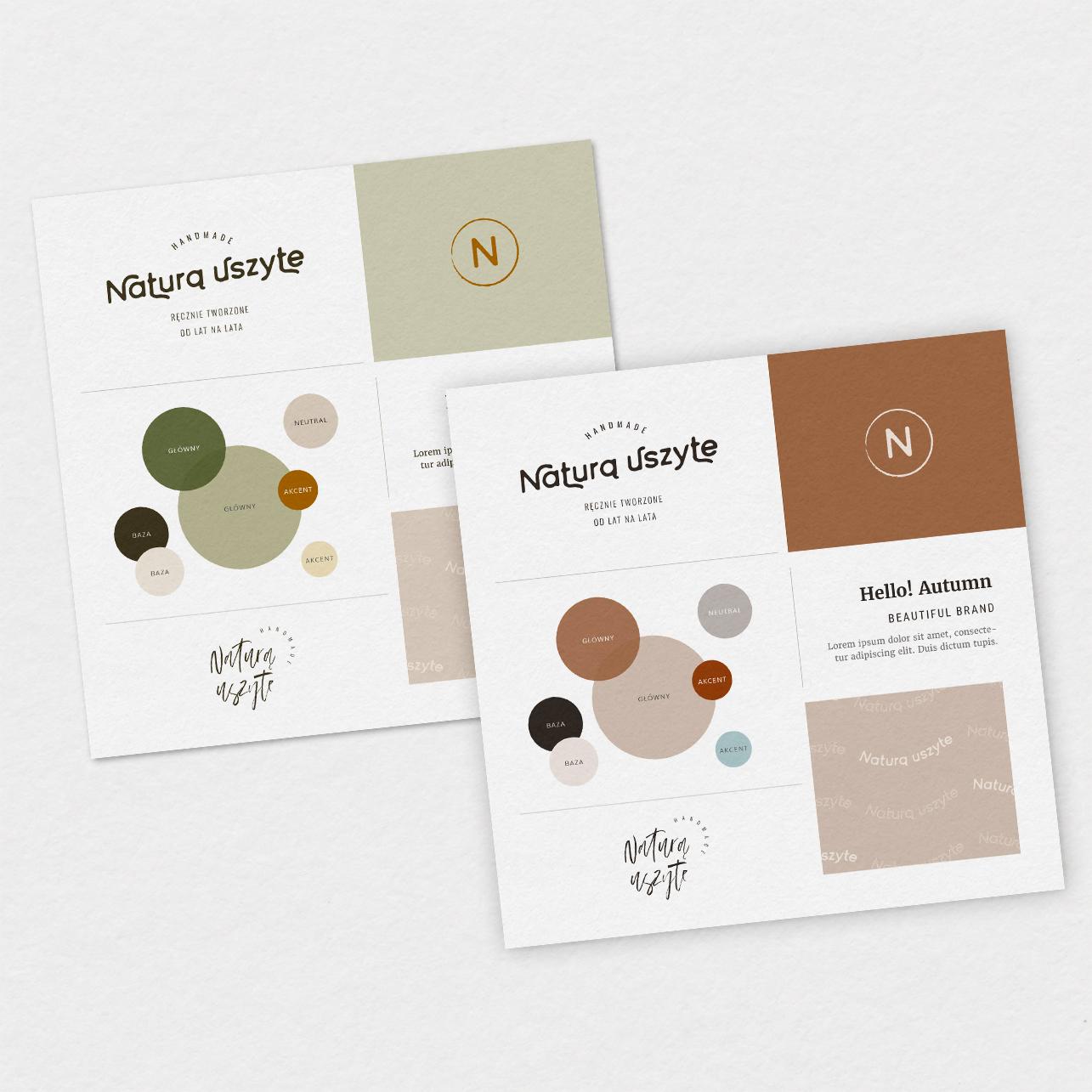 Hello! Autumn - Nastart | Gotowe logo, logo dla firmy, wzory itła, ikony, stemple, oprawa graficzna | Gotowa identyfikacja wizualna | Hello! Beautiful brand | Sklep Moyemu