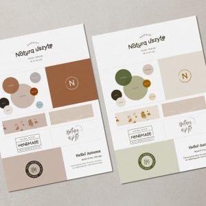 Hello! Autumn | Gotowa identyfikacja wizualna | Hello! Beautiful brand | Sklep Moyemu