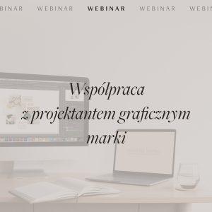 Webinar: Współpraca z projektantem graficznym marki - umowa projekty graficzne, logo, identyfikacja wizualna, zlecenie projektu strony internetowej | Sklep Moyemu