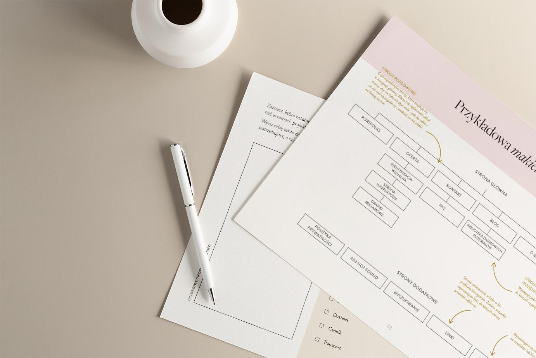 Planner Skuteczna ipiękna strona internetowa   Sklep Moyemu   Jak zaprojektować stronę internetową samodzielnie?