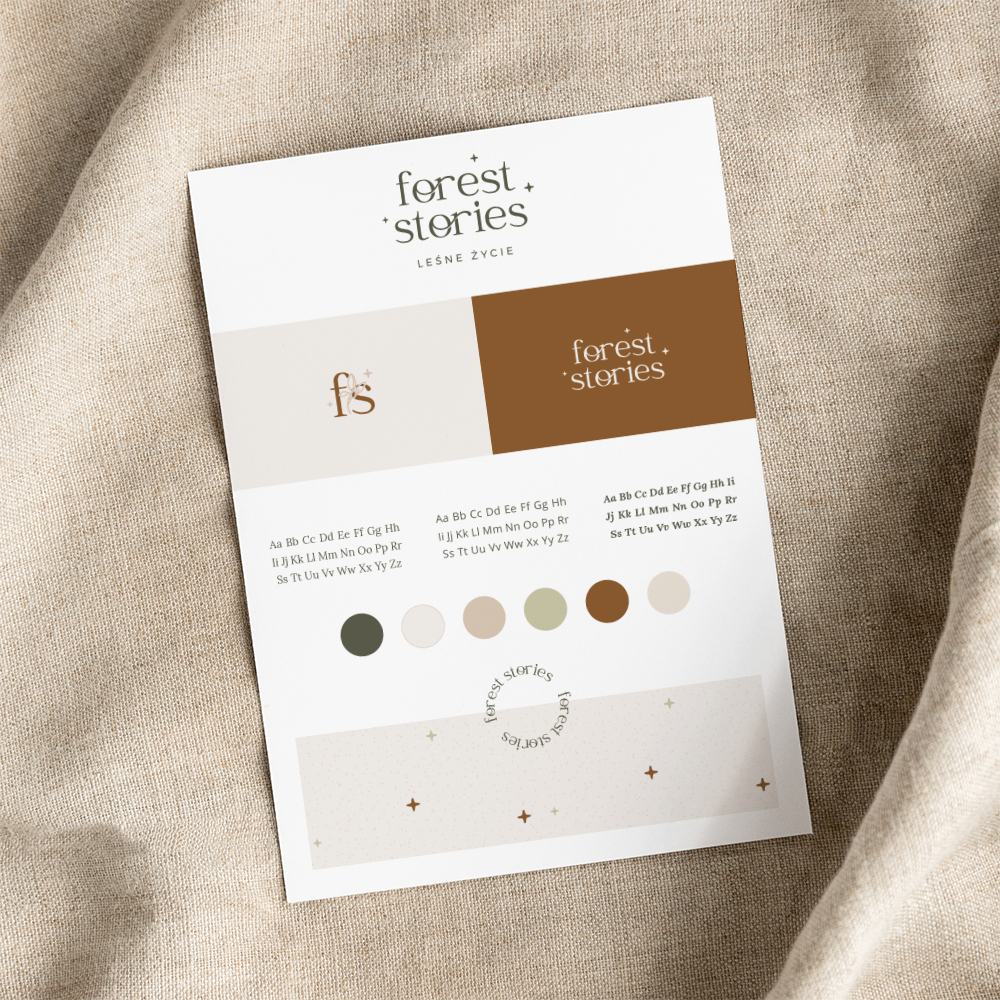 Oh! Organic Autumn - gotowa identyfikacja wizualna dla marki jesiennej | Moyemu Sklep