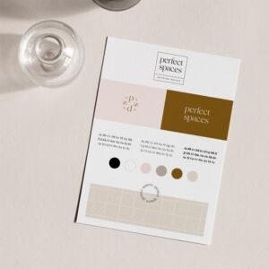 Oh! Minimalist Winter - gotowa identyfikacja wizualna dla marki zimowej | Moyemu Sklep
