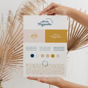 Oh! Creative Spring - gotowa identyfikacja wizualna dla marki wiosennej | Logo, paleta barw, kolory dla marki, fonty, typografia, grafiki social media, grafiki Canva naInstagram, Facebook iInstaStories | Moyemu Sklep