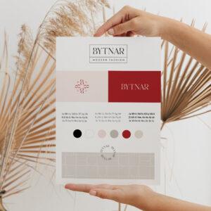 Oh Luxurious Winter - gotowa identyfikacja wizualna. Oprawa graficzna dla marki - logo, paleta barw, grafiki Canva Moyemu Sklep