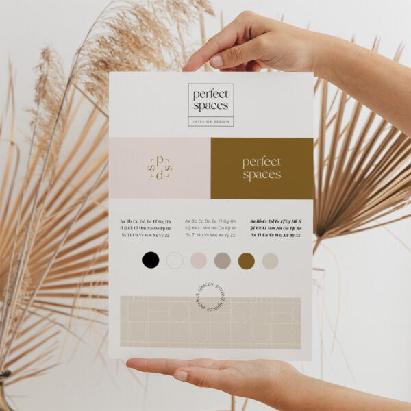 Gotowa identyfikacja wizualna dla marki zimowej | Logo, paleta barw, kolory dla marki, czcionki, wzór firmowy, grafiki instagram, Facebook, InstaStories, grafiki Canva | Sklep Moyemu