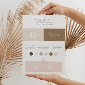 Oh! Romantic Summer - gotowa identyfikacja wizualna dla marki letniej | Logo, paleta barw, kolory dla marki, fonty, typografia, grafiki social media, grafiki Canva naInstagram, Facebook iInstaStories | Moyemu Sklep